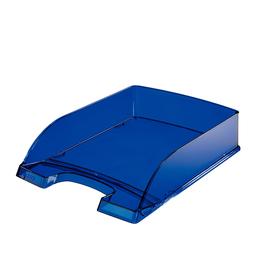 Briefkorb Plus für A4 242x63x340mm blau transparent kunststoff Leitz 5226-00-39 Produktbild