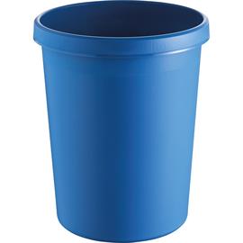 Papierkorb Standard 45l blau Helit H6106234 Produktbild