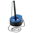 Kugelschreiberständer Salsa Mine schwarz 68x95x40mm schwarz/blau HAN 1770-34 Produktbild