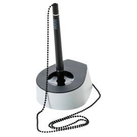 Kugelschreiberständer Salsa Mine schwarz 68x95x40mm lichtgrau-schwarz HAN 1770-31 Produktbild