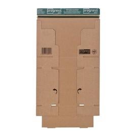 Wellpappe Postversandkarton braun DIN A5+ / 215 x 155 x 43mm / 1.20E Produktbild