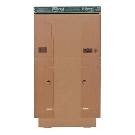 Wellpappe Postversandkarton braun DIN A4 / 300 x 212 x 43mm / 1.20E Produktbild