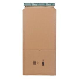 Wellpappe Versandverpackung braun für Ordner DIN A4 / 320 x 290 x 80mm Produktbild