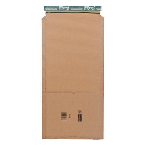 Wellpappe Versandverpackung für Ordner DIN A4 320x290x80mm braun Produktbild