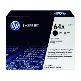 Toner 64A für LaserJet P4011/4012/4013/4014 10000Seiten schwarz HP CC364A Produktbild
