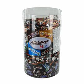 Schokoladenmischung Miniatures Snickers/Mars/Twix oder Bounty (PACK=3000 GRAMM) Produktbild