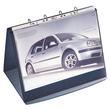 Tisch-Flipchart DURASTAR A4 quer mit 10 Hüllen basaltgrau kunststoff Durable 8567-39 Produktbild Additional View 2 S
