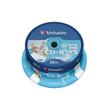 CD Rohling CD-R DataLifePlus bedruckbar Spindel 52er Speed 700MB/80Min. Verbatim 43439 (PACK=25 STÜCK) Produktbild