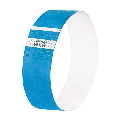 Eventbänder mit Etiketten 26cm neonblau besonders weiches Material Sigel EB211 (PACK=120 STÜCK) Produktbild Additional View 1 L