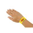 Eventbänder mit Etiketten 26cm neongelb besonders weiches Material Sigel EB213 (PACK=120 STÜCK) Produktbild Additional View 3 S