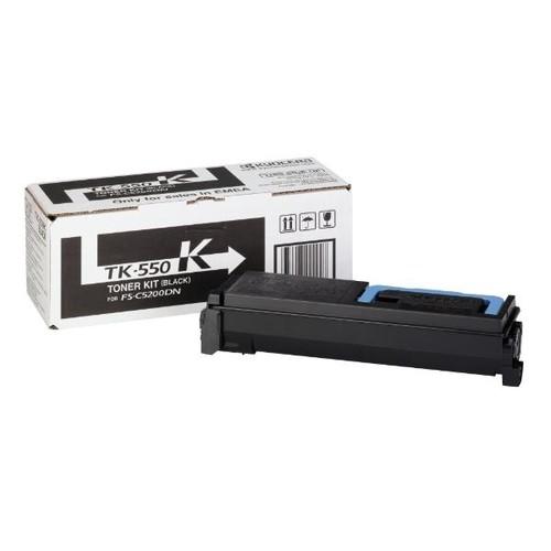 Toner TK-550K für FS-C5200DN 7000Seiten schwarz Kyocera 1T02HM0EU0 Produktbild Front View L