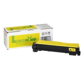Toner TK-550Y für FS-C5200DN 6000Seiten yellow Kyocera 1T02HMAEU0 Produktbild