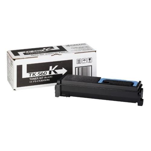 Toner TK-560K für FS-C5300DN/5350DN/ ECOSYS P6030 12000Seiten schwarz Kyocera 1T02HN0EU0 Produktbild Front View L