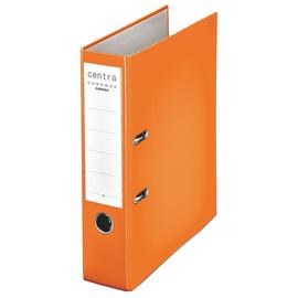 Ordner Chromos A4 80mm orange Kunststoff Centra 230135 Produktbild