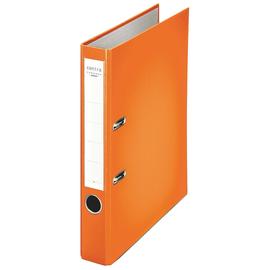 Ordner Chromos A4 50mm orange Kunststoff Centra 231135 Produktbild