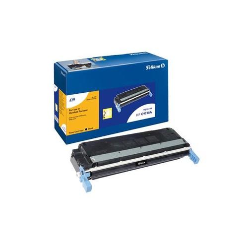 Toner Gr. 1129 (C9730A) für Color LaserJet 5500/5550 12000Seiten schwarz Pelikan 627735 Produktbild Front View L