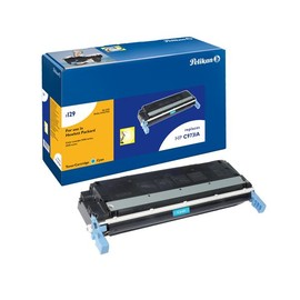 Toner Gr. 1129 (C9731A) für Color LaserJet 5500/5550 12000Seiten cyan Pelikan 627742 Produktbild