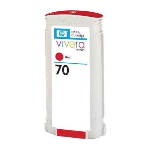 Tintenpatrone 70 für HP DesignJet Z3100 130ml rot HP C9456A Produktbild Front View L