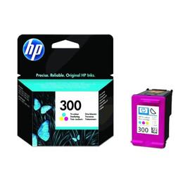 Tintenpatrone 300 für HP DeskJet D1660/D2560/D2660/D5560 4ml farbig HP CC643EE Produktbild