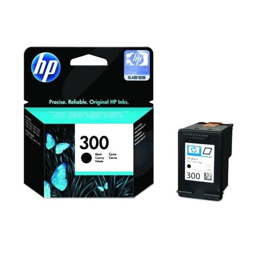 Tintenpatrone 300 für HP DeskJet D1660/D2560/D2660/D5560 4ml schwarz HP CC640EE Produktbild Front View L