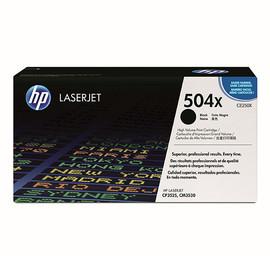 Toner 504X für Color Laserjet CP3525/CM3530 10000Seiten schwarz HP CE250X Produktbild