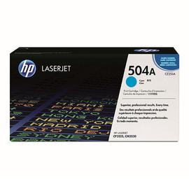 Toner 504A für Color Laserjet CP3525/CM3530 7000Seiten cyan HP CE251A Produktbild