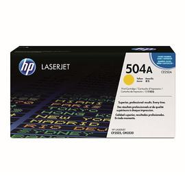 Toner 504A für Color Laserjet CP3525/CM3530 7000Seiten yellow HP CE252A Produktbild