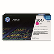 Toner 504A für Color Laserjet CP3525/CM3530 7000Seiten magenta HP CE253A Produktbild