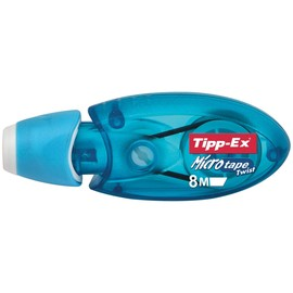 Korrekturroller Micro Tape Twist Einweg 5mm x 8m Tipp-Ex 8706142 (ST=8 METER) Produktbild
