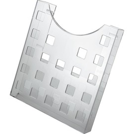 Prospekthalter A4 241x37x264mm glasklar Helit H6102502 Produktbild
