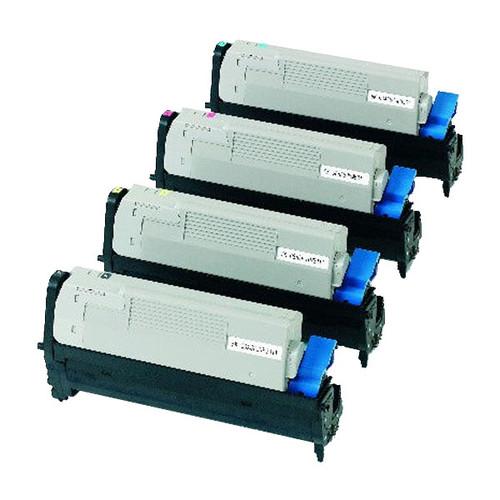 Trommel für C5500N/C5550/C5800/C5900 20000Seiten magenta OKI 43381722 Produktbild Front View L