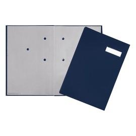 Unterschriftsmappe 20Fächer A4 blau 24192-22 Produktbild