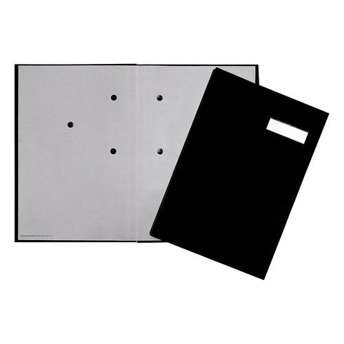 Unterschriftsmappe 20Fächer A4 schwarz 24192-44 Produktbild