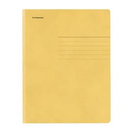Jurismappe mit 3 Klappen A4 gelb Karton 80001381 Produktbild