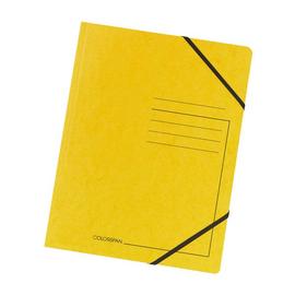 Eckspanner A4 gelb Karton Falken 11286648 Produktbild