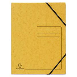 Eckspanner A4 GZ gelb Karton Exacompta 555419E Produktbild