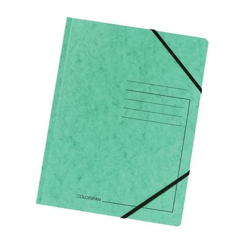 Eckspanner A4 GZ grün Karton Exacompta 555413E Produktbild Front View L