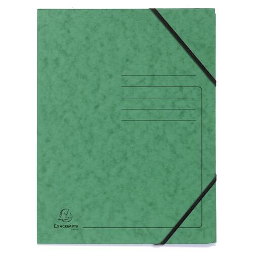 Eckspanner A4 GZ grün Karton Exacompta 555413E Produktbild