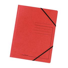 Eckspanner A4 GZ rot Karton Exacompta 555415E Produktbild