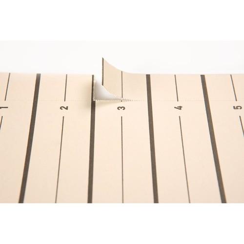Trennblätter mit perforierten Taben A4 240x300mm rot teilfarbig Karton 44063-01 (PACK=100 STÜCK) Produktbild Additional View 2 L
