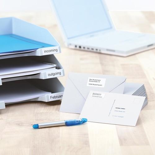 Etiketten PREMIUM Inkjet+Laser+Kopier 70x16,9mm auf A4 Bögen weiß permanent Herma 4459 (PACK=5100 STÜCK) Produktbild Additional View 3 L