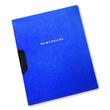 Bewerbungsmappe Oxford clip-fix A4 für 30Blatt dunkelblau Karton 100421009 Produktbild