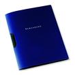 Bewerbungsmappe Oxford clip-fix A4 für 30Blatt dunkelblau PP 100421028 Produktbild