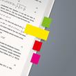 Haftmarker Neon Mini 50x12mm 5 Neonfarben Papier Sigel HN655 (PACK=5x 40 STÜCK) Produktbild Additional View 2 S