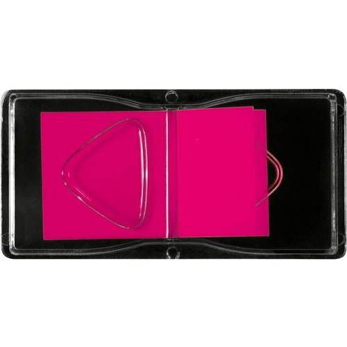 Haftmarker Z-Marker Film 25x45mm neonrot transparent Sigel HN480 (PACK=50 STÜCK) Produktbild Additional View 2 L