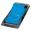 Haftmarker Z-Marker Film 25x45mm neonblau transparent Sigel HN484 (PACK=50 STÜCK) Produktbild Additional View 1 S