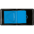 Haftmarker Z-Marker Film 25x45mm neonblau transparent Sigel HN484 (PACK=50 STÜCK) Produktbild Additional View 2 S