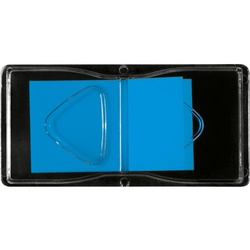 Haftmarker Z-Marker Film 25x45mm neonblau transparent Sigel HN484 (PACK=50 STÜCK) Produktbild Additional View 2 L