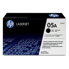Toner 05A für Laserjet P2035/P2055 2300Seiten schwarz HP CE505A Produktbild