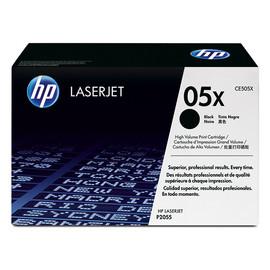 Toner 05X für Laserjet P2055 6500Seiten schwarz HP CE505X Produktbild